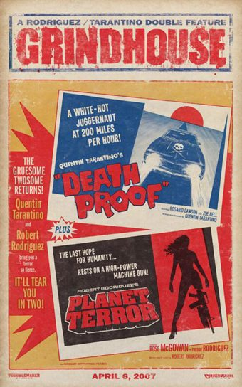 Grindhouse – Death Proof Planet Terror 24 x 36 Inch Movie Poster