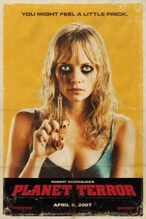 Grindhouse Planet of Terror Needle Prick 24 x 36 Inch Movie Poster