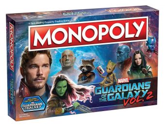 Monopoly: Guardians of the Galaxy Vol. 2 Edition