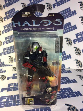 Halo 3 Spartan Soldier – EVA HellSpartan Action Figure McFarlane Toys SDCC Exclusive