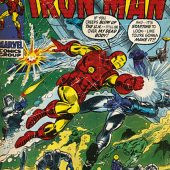 The Invincible Iron Man Comic Book Cover 24 x 36 Inch Poster
