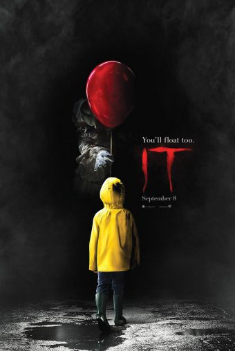 Stephen King's It (2017) Red Balloon 24 x 36 Inch Movie Poster