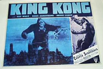 King Kong 22 x 34 Inch Movie Poster