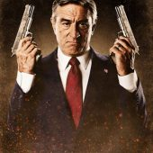 Machete Robert De Niro as Senator McLaughlin 24 x 36 Inch Character Movie Poster