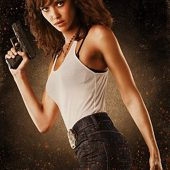Machete – Jessica Alba as Sartana 24 x 36 Inch Character Movie Poster