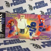 Marvel Universe MiniMates Toys 4-Pack – Peter Parker, Spider-Man, Kingpin and Bullseye [Diamond Select/Art Asylum]
