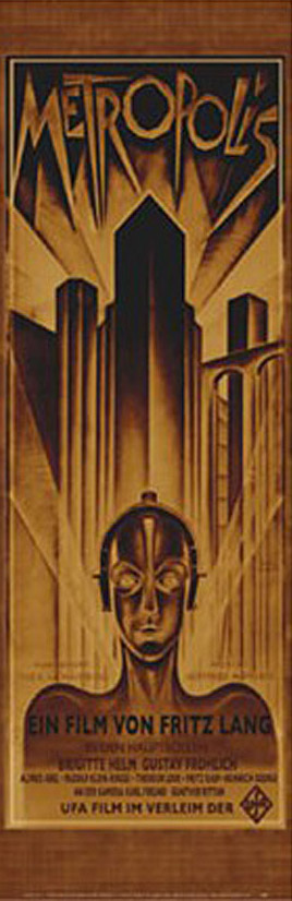 Metropolis 12 x 36 Inch Movie Poster