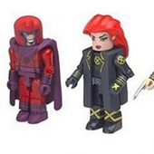 Marvel Universe MiniMates Toys 4-Pack – Phoenix, Professor X, Magneto and New Wolverine [Diamond Select/Art Asylum]