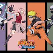 Shonen Jump Naruto Team 7 II Shippuden 36 x 24 Inch Manga Poster