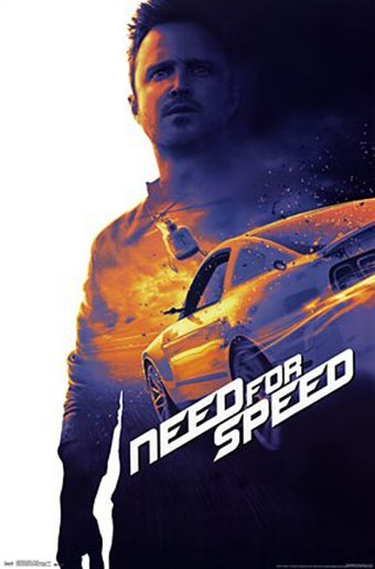 Need for Speed 22 x 34 Inch Movie Poster