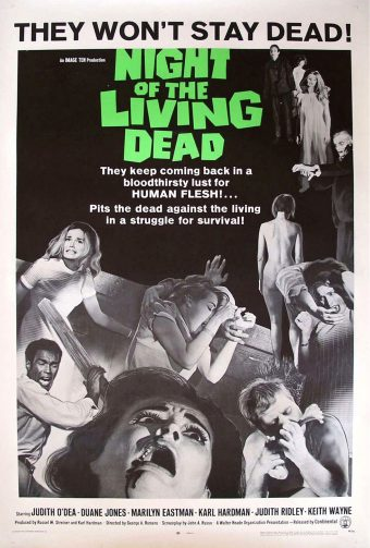 Night of the Living Dead 24 x 36 Inch Movie Poster