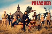 Preacher 36 x 24 Inch Character Group Shot Television Series Poster