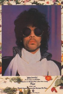 Prince Purple Rain When Doves Cry 24 x 36 Inch Teaser Movie Poster