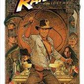 Raiders of the Lost Ark 24 x 36 Inch Movie Poster – Style B