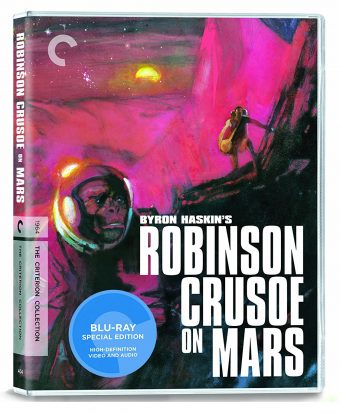 Robinson Crusoe On Mars Special Edition – The Criterion Collection [with Bill Sienkiewicz Cover Art]