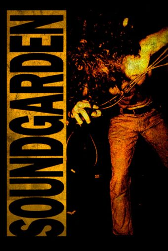 Soundgarden Louder Than Love 24 x 36 Inch Music Poster