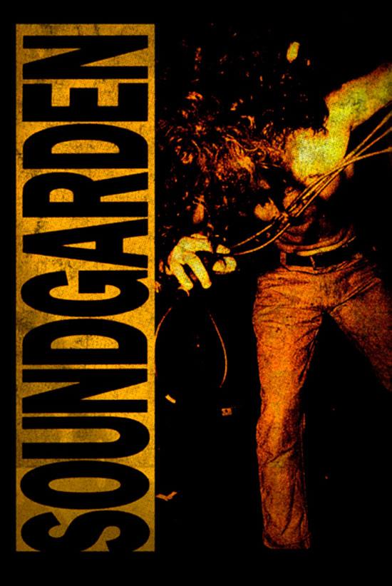 Soundgarden Louder Than Love 24 x 36 Inch Music Poster