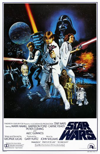 Star Wars: Episode IV – A New Hope 24 x 36 Inch Movie Poster