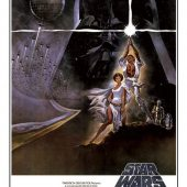 "Star Wars: Episode IV – A New Hope ""A Long Time Ago in a Galaxy Far Far Away"" 24 x 36 Inch Movie Poster"