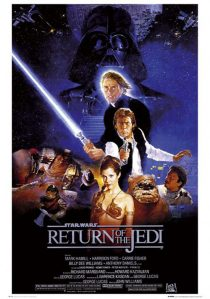 Star Wars: Episode VI – Return of the Jedi 24 x 36 Inch Movie Poster
