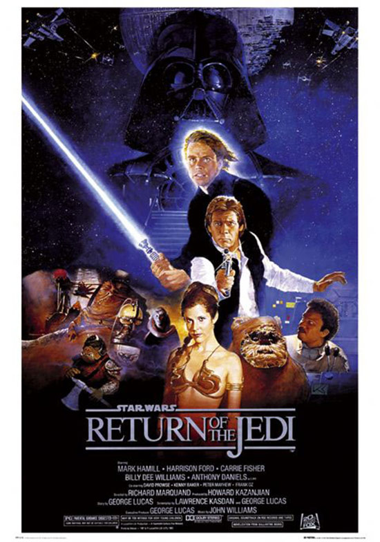 Star Wars: Episode VI – Return of the Jedi 24 x 36 Inch Movie Poster