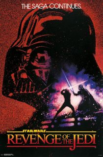 Star Wars: Episode VI – Revenge of the Jedi (Original Title) 24 x 36 Movie Poster