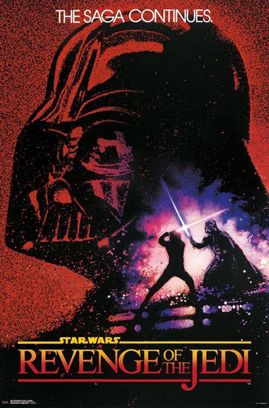 Star Wars: Episode VI – Revenge of the Jedi (Original Title) 24 x 36 Movie Poster