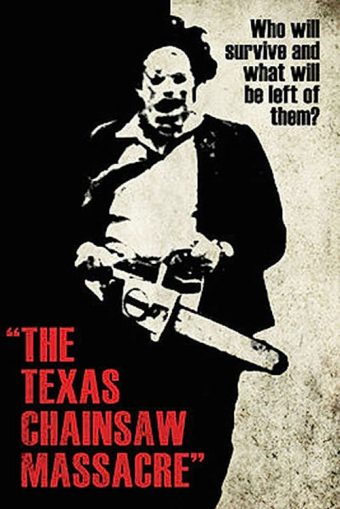 The Texas Chainsaw Massacre 24 x 36 Inch Movie Poster