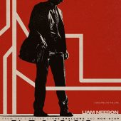 Movie posters for Liam Neeson crime thriller The Commuter
