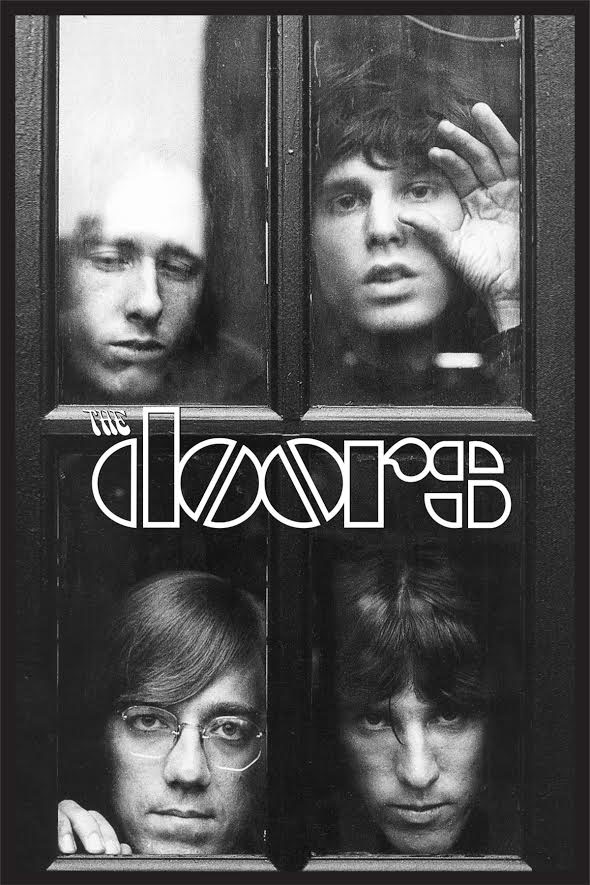 The Doors Black and White 24 x 36 inch Poster