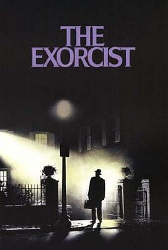 William Friedkin's The Exorcist 24 x 36 Inch Key Art Movie Poster