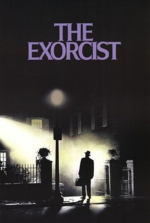 William Friedkin's The Exorcist 24 x 36 Inch Key Art Movie Poster