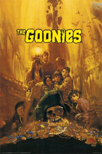 The Goonies 24 x 36 Inch Movie Poster