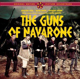 The Guns of Navarone Original Motion Picture Soundtrack Album Composed by Dimitri Tiomkin