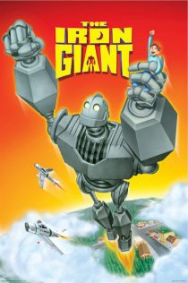 The Iron Giant 24 x 36 Inch Movie Poster