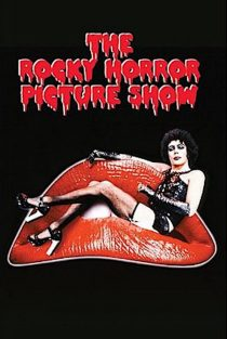 The Rocky Horror Picture Show 24 x 36 Inch Red Lips Tim Curry Movie Poster