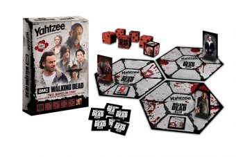 Yahtzee: AMC The Walking Dead Edition Including Battle Yahtzee Custom Game Board