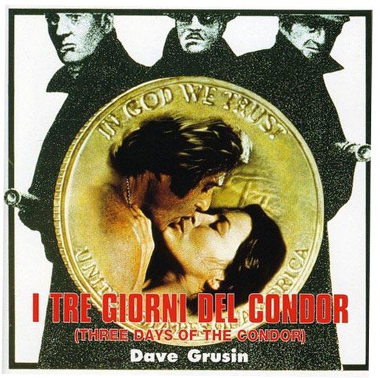 Three Days of the Condor Original Soundtrack Recording Music by Dave Grusin