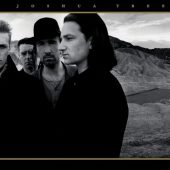U2 The Joshua Tree Black & White 36 x 24 Inch Poster