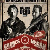 The Walking Dead: Rick vs. Negan 24 x 36 Inch Television Series Poster