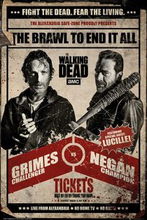 The Walking Dead: Rick vs. Negan 24 x 36 Inch Television Series Poster