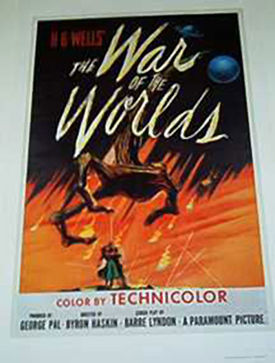 The War of the Worlds 22 x 34 Inch Movie Poster