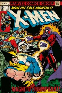 X-Men Comic Book Number 112 vs. Magneto Triumphant Cover 24 x 36 Inch Poster