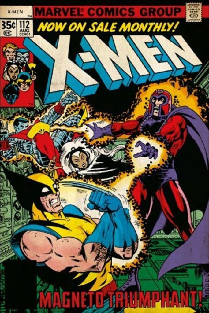 X-Men Comic Book Number 112 vs. Magneto Triumphant Cover 24 x 36 Inch Poster