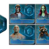 Yahtzee: Marvel's Guardians of the Galaxy Volume 2 Edition with Groot Vinyl Figure