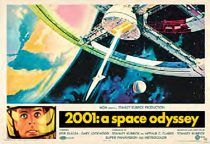 2001: A Space Odyssey 36 x 24 Inch Horizontal Movie Poster