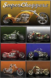 The American Chopper 24 x 36 inch Bike Poster