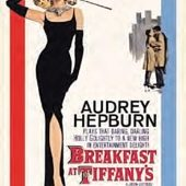 Audrey Hepburn in Breakfast at Tiffany's 24 x 36 Inch Movie Poster