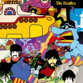 The Beatles – Yellow Submarine Collage  24 X 36 inch Poster