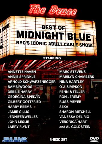 Best of Midnight Blue 6-DVD Set – Vanessa Del Rio, Teri Weigel, Marilyn Chambers + Many More